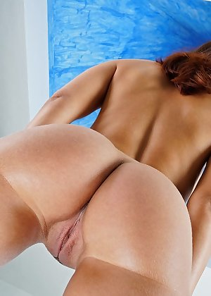 Model Nina Sunrise , IntheCrack Pussy Closeup Gold collection wet pink clit #5