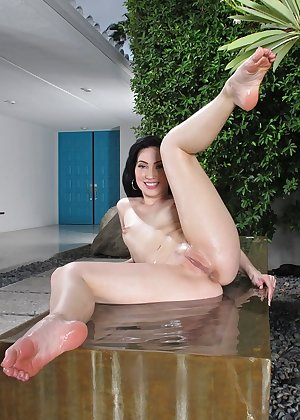 Model Aria Alexander , IntheCrack Pussy Closeup Gold collection wet puss pic #14