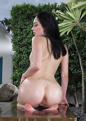 Model Aria Alexander , IntheCrack Pussy Closeup Gold collection wet puss pic #10